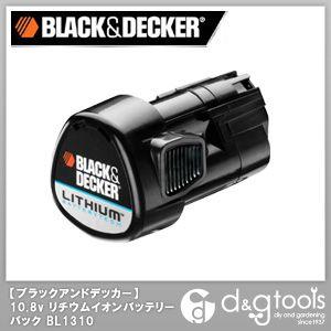 Black&Decker公司10.8V锂离子电池膜面护肤(电池)(BL1310)