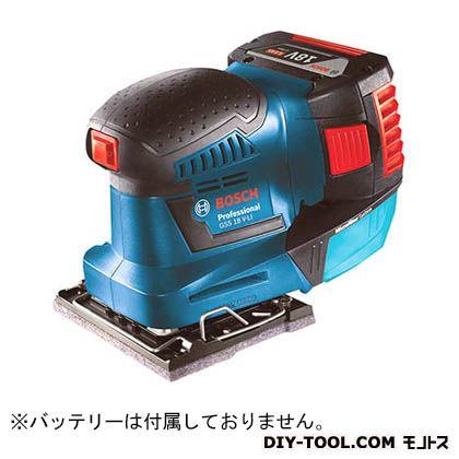 ボッシュ バッテリー吸塵オービタルサンダー GSS18V-LIH
