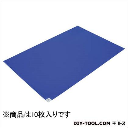 ブラストン 粘着マットー (10枚×1) 青 (BSC84001B) 10枚