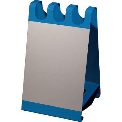 ぶんぶく サインボード型傘立 ホワイトボードシート付 ブルー (USOX03SBL) 1個