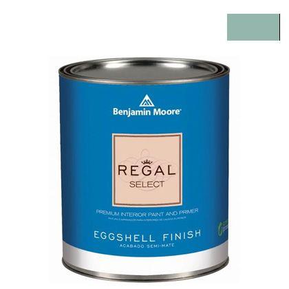 ベンジャミンムーアペイント リーガルセレクトエッグシェル 2?3分艶有り エコ水性塗料 covington blue (G319-HC-138) Benjaminmoore 塗料 水性塗料