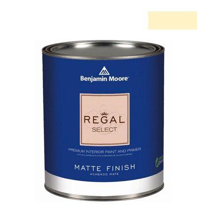 ベンジャミンムーアペイント リーガルセレクトマット 艶消し エコ水性塗料 lemon sorbet 4L (G221-2019-60) Benjaminmoore 塗料 水性塗料
