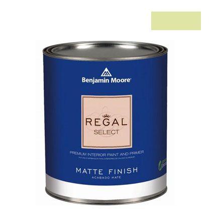 ベンジャミンムーアペイント リーガルセレクトマット 艶消し エコ水性塗料 wales green 4L (G221-2028-50) Benjaminmoore 塗料 水性塗料