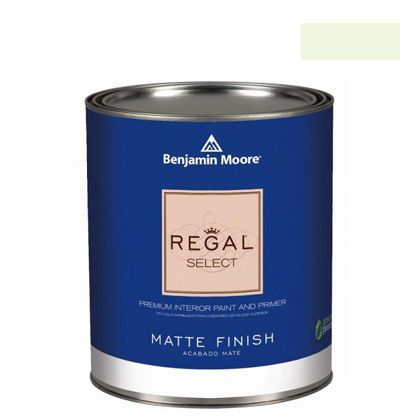 ベンジャミンムーアペイント リーガルセレクトマット 艶消し エコ水性塗料 frosty lime 4L (G221-2029-70) Benjaminmoore 塗料 水性塗料