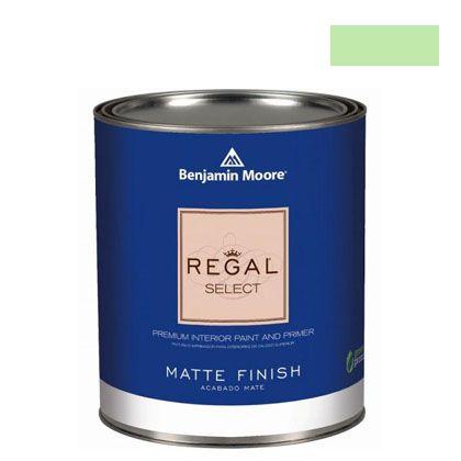 ベンジャミンムーアペイント リーガルセレクトマット 艶消し エコ水性塗料 shimmering lime 4L (G221-2030-50) Benjaminmoore 塗料 水性塗料