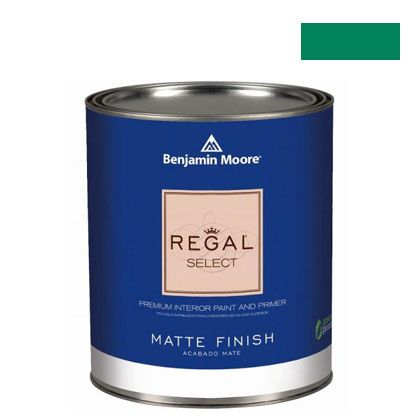 ベンジャミンムーアペイント リーガルセレクトマット 艶消し エコ水性塗料 emerald isle 4L (G221-2039-20) Benjaminmoore 塗料 水性塗料