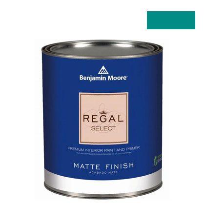ベンジャミンムーアペイント リーガルセレクトマット 艶消し エコ水性塗料 aruba blue 4L (G221-2048-30) Benjaminmoore 塗料 水性塗料