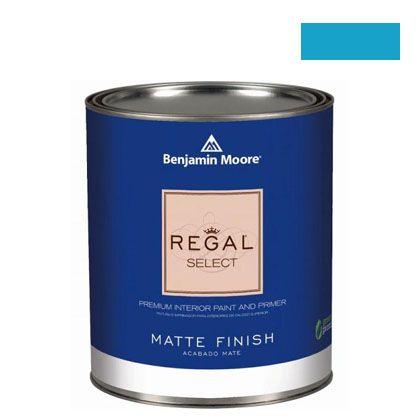 ベンジャミンムーアペイント リーガルセレクトマット 艶消し エコ水性塗料 yosemite blue 4L (G221-2059-40) Benjaminmoore 塗料 水性塗料