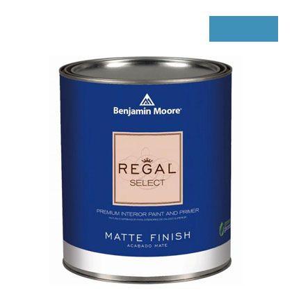 ベンジャミンムーアペイント リーガルセレクトマット 艶消し エコ水性塗料 electric blue 4L (G221-2061-40) Benjaminmoore 塗料 水性塗料