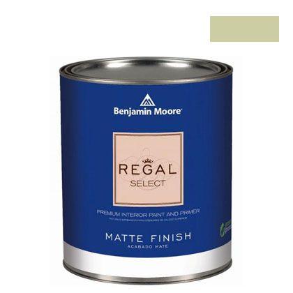 ベンジャミンムーアペイント リーガルセレクトマット 艶消し エコ水性塗料 fernwood green 4L (G221-2145-40) Benjaminmoore 塗料 水性塗料