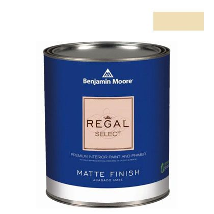 ベンジャミンムーアペイント リーガルセレクトマット 艶消し エコ水性塗料 golden straw 4L (G221-2152-50) Benjaminmoore 塗料 水性塗料