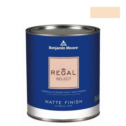 ベンジャミンムーアペイント リーガルセレクトマット 艶消し エコ水性塗料 pale oats 4L (G221-2166-60) Benjaminmoore 塗料 水性塗料