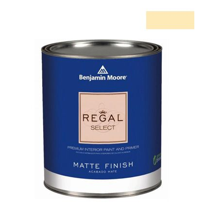 ベンジャミンムーアペイント リーガルセレクトマット 艶消し エコ水性塗料 popcorn kernel 4L (G221-310) Benjaminmoore 塗料 水性塗料