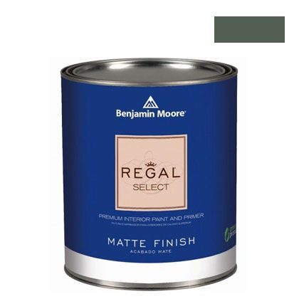 ベンジャミンムーアペイント リーガルセレクトマット 艶消し エコ水性塗料 dakota shadow 4L (G221-448) Benjaminmoore 塗料 水性塗料