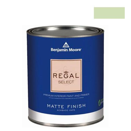ベンジャミンムーアペイント リーガルセレクトマット 艶消し エコ水性塗料 veranda view 4L (G221-541) Benjaminmoore 塗料 水性塗料
