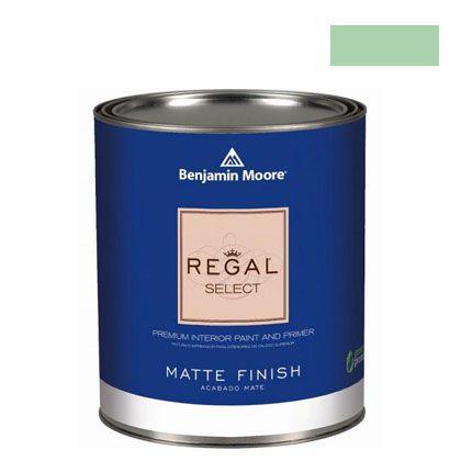 ベンジャミンムーアペイント リーガルセレクトマット 艶消し エコ水性塗料 douglas fern 4L (G221-563) Benjaminmoore 塗料 水性塗料