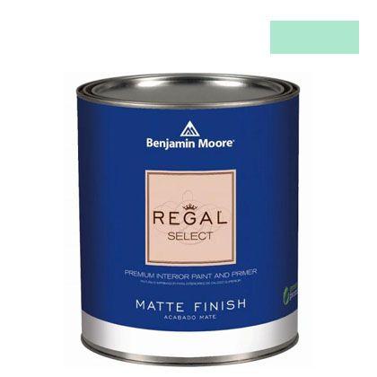 ベンジャミンムーアペイント リーガルセレクトマット 艶消し エコ水性塗料 bahama waters 4L (G221-576) Benjaminmoore 塗料 水性塗料