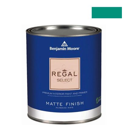 ベンジャミンムーアペイント リーガルセレクトマット 艶消し エコ水性塗料 erin green 4L (G221-608) Benjaminmoore 塗料 水性塗料