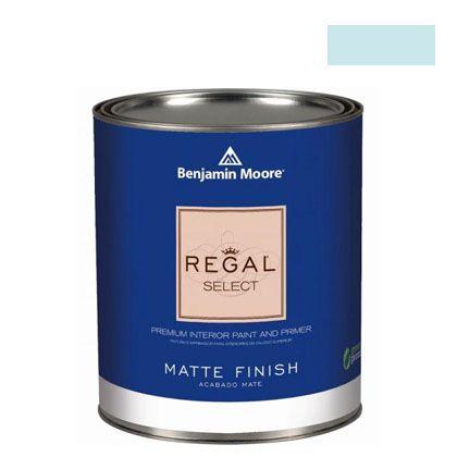 ベンジャミンムーアペイント リーガルセレクトマット 艶消し エコ水性塗料 crystal springs 4L (G221-764) Benjaminmoore 塗料 水性塗料