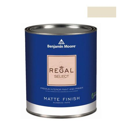 ベンジャミンムーアペイント リーガルセレクトマット 艶消し エコ水性塗料 natural wicker 4L (G221-950) Benjaminmoore 塗料 水性塗料