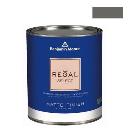 ベンジャミンムーアペイント リーガルセレクトマット 艶消し エコ水性塗料 kendall charcoal (G221-HC-166) Benjaminmoore 塗料 水性塗料