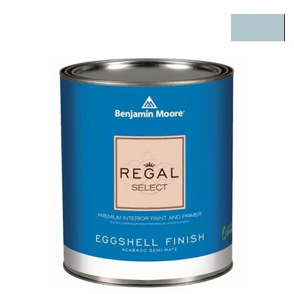 ベンジャミンムーアペイント リーガルセレクトエッグシェル 2?3分艶有り エコ水性塗料 blue porcelain (G319-1641) Benjaminmoore 塗料 水性塗料