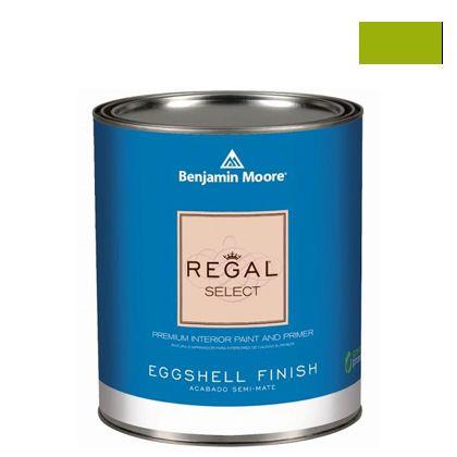 ベンジャミンムーアペイント リーガルセレクトエッグシェル 2?3分艶有り エコ水性塗料 dark lime (G319-2027-10) Benjaminmoore 塗料 水性塗料