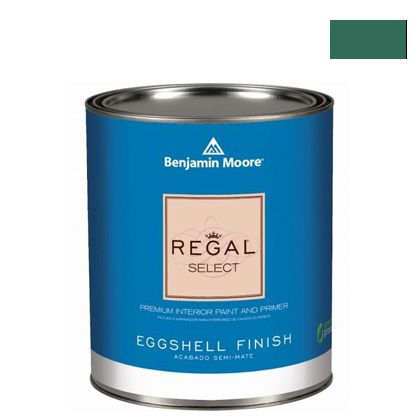 ベンジャミンムーアペイント リーガルセレクトエッグシェル 2?3分艶有り エコ水性塗料 deep jungle (G319-595) Benjaminmoore 塗料 水性塗料