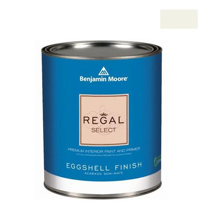 ベンジャミンムーアペイント リーガルセレクトエッグシェル 2?3分艶有り エコ水性塗料 クラウド ホワイト 4L (G319-967) Benjaminmoore 塗料 水性塗料