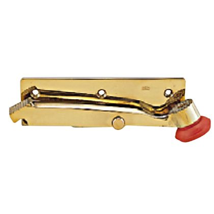 ベスト 402 ドアホルダー横型 左 黄銅磨き -547099