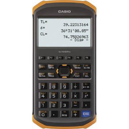 カシオ計算機 土木測量専業電卓 (fx-FD10Pro) カシオ計算機 オートレベル 水準器 平行 水平器 水平機 水準機