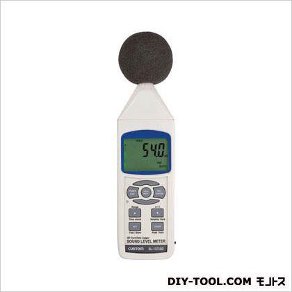 カスタム デジタル騒音計 白 W68×H245×D45mm SL-1373SD