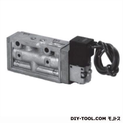 CKD セレックスバルブパイロット式5ポート弁 幅×奥行×高さ:168×30×90mm 4F210-08-DC24V