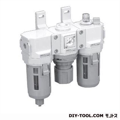 CKD F.R.Lコンビネーション 白色シリーズ 幅×奥行×高さ:240×97.5×226mm (C4000-10-W)