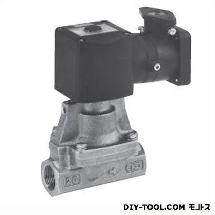 CKD パイロット式2ポート弁(防爆・d2G2) 幅×奥行×高さ:126×65×163.5mm AP11E2-20A-C4T-AC100V