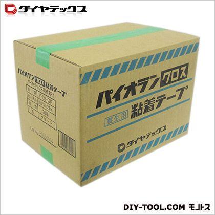 ダイヤテックス パイオランクロス養生用粘着テープ 緑 50mm×25m (Y-09-GR) 30巻