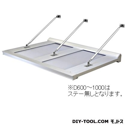 DAIKEN RSバイザー アルミ&ポリカ D1200×W3900 (RS-D)