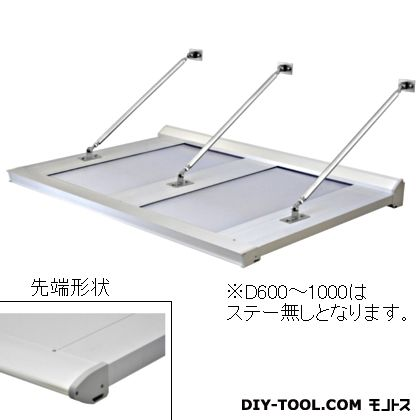 DAIKEN RSバイザー アルミ&ポリカ D600×W2800 (RS-DR)