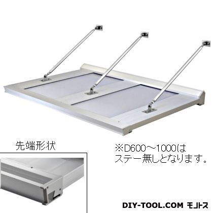 DAIKEN RSバイザー アルミ&ポリカ D900×W3400 (RS-DT)