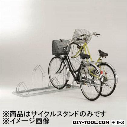ダイケン 平置き自転車ラック前輪差込式サイクルスタンド 6台収容ピッチ400 (CSM6) ダイケン レジャー用品 便利グッズ(レジャー用品)