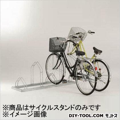 ダイケン 平置き自転車ラック前輪差込式サイクルスタンド 4台収容ピッチ400 (CSM4) ダイケン レジャー用品 便利グッズ(レジャー用品)