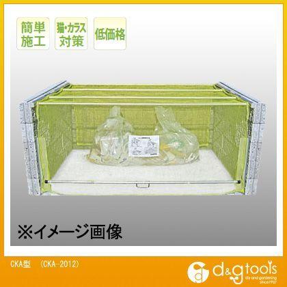 ダイケン クリーンストッカー(ゴミ収集庫)ネットタイプ 約26世帯用 CKA-2012