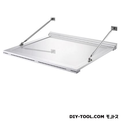 DAIKEN RSバイザー アルミ&アルミ樹脂複合材 D600×W1000 (RS-CFL)