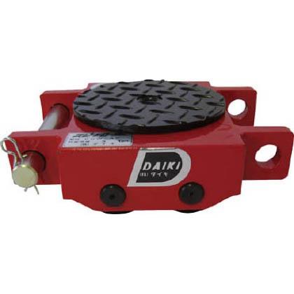 ダイキ スピードローラ低床ダブル型ウレタン車輪3ton (×1台) (DUW3S)