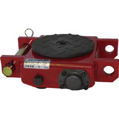 ダイキ スピードローラー低床型ウレタン車輪3ton (×1台) (DUW3P)