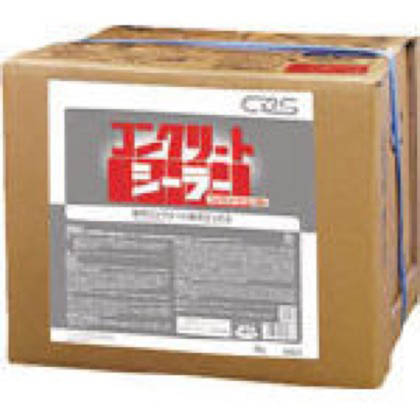 シーバイエス コンクリート床用シール剤 コンクリートシーラー 18L (13057) 1ケース