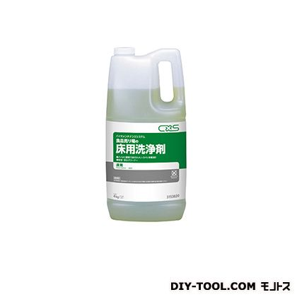 シーバイエス 床用洗浄剤 食品売り場の床用洗浄剤 4kg 3153820 1本