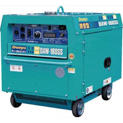 デンヨー ディーゼル防音型エンジン溶接機 DAW180SS 1台 デンヨー 溶接機 バッテリー溶接機