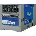 デンヨー ディーゼルエンジン溶接機超低騒音型 (DLW200X2LS) 1台 デンヨー 溶接機 バッテリー溶接機