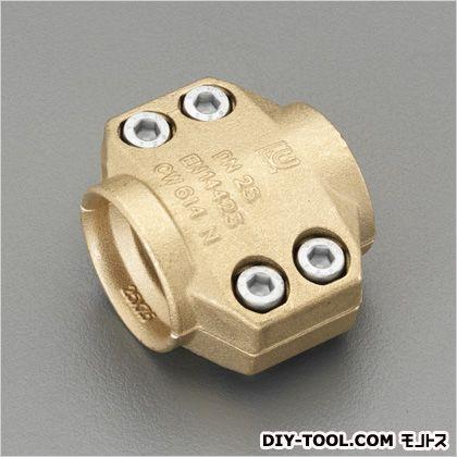 ホース用セフティクランプ(スチーム用/真鍮製) 50mm (EA141BT-20)